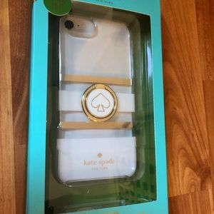 New Kate Spade iPhone case and ringstand